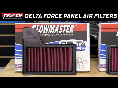 Flowmaster Delta Force Replacement Performance Panel Air Filters