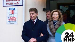 Кожемяко побеждает на выборах губернатора Приморья с 60% голосов - МИР 24