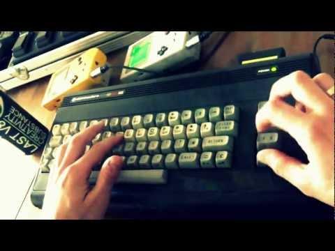 Oglądaj: The Last V8 (Rob Hubbard,1985) C64 LIVE REMIX [LukHash]