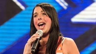 Danielle Scott's audition - Adele's Turning Tables - The X Factor UK 2012