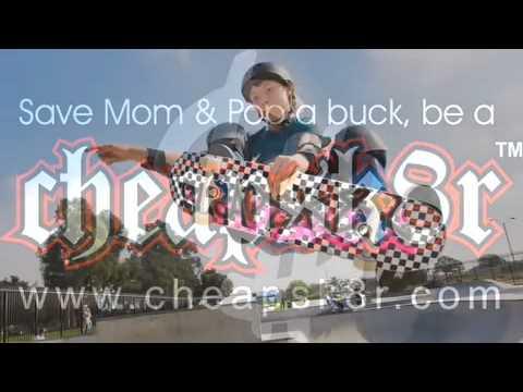 14 Year Old Female Skater Abby Zace Zsarnay-Cheapsk8r Video