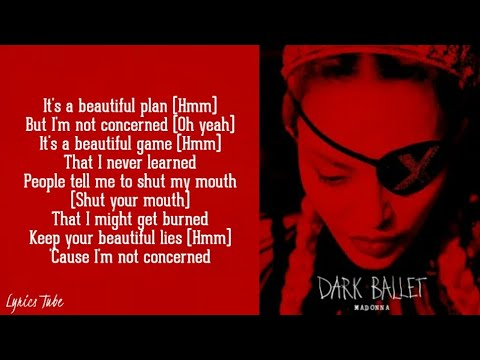 Madonna - Dark Ballet (Lyrics)