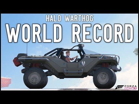 Forza Horizon 3 - HALO WORLD RECORD!!!!