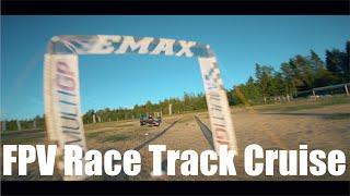 FPV Race track cruise