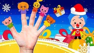 Familia Dedos de Navidad - Plim Plim   El Reino Infantil