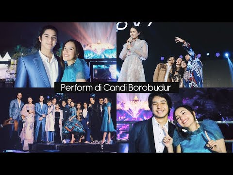 Beby Vlog #20 - Perform di Candi Borobudur