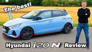Hyundai i20N review with 0-60mph test!