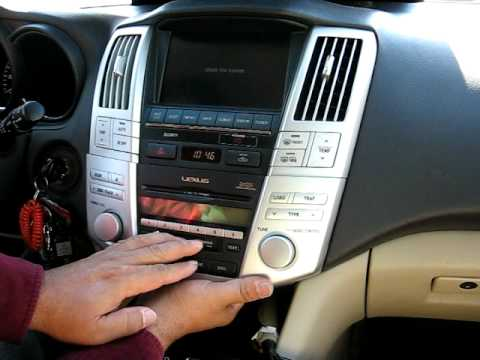 Download How To Remove Radio Cd Changer Navigation From 2005 Lexus