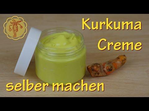 Kurkuma-Creme selber machen - gegen Schuppenflechte und zur Wundheilung