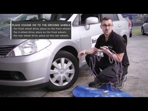 How To Fit Snow Chains | NZ Rent A Car