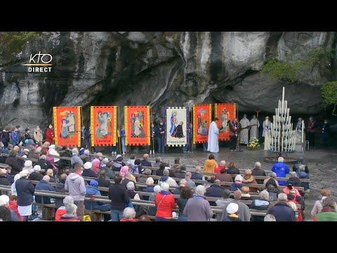 Chapelet du 7 octobre 2020 à Lourdes