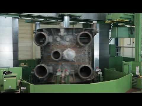 Turbinenbearbeitung