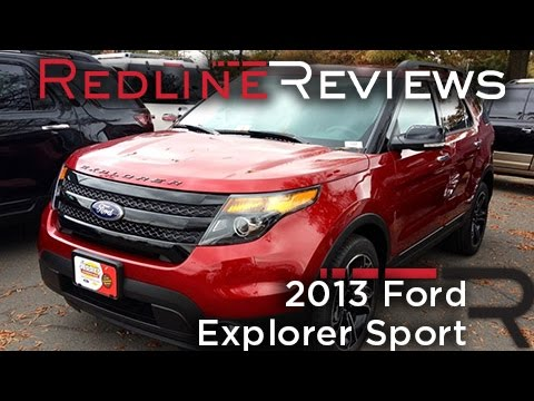 2013 Ford Explorer Sport Review, Walkaround, Exhaust, Test Drive