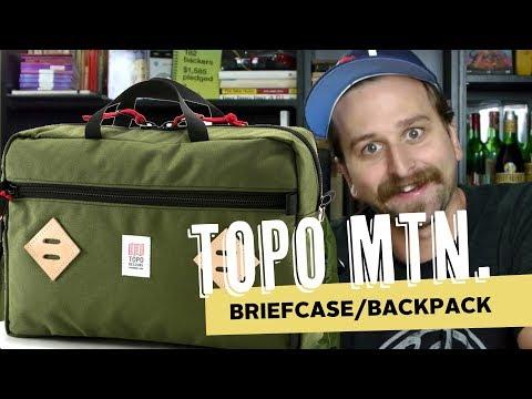 Topo Mountain Briefcase