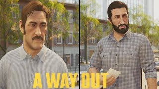 A WAY OUT All Endings - Ending (Leo Ending & Vincent Ending) - A WAY OUT ENDING
