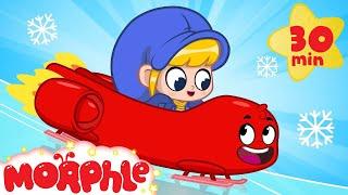 Morphle On Ice! My Magic Pet Morphle | Cartoons For Kids | Morphle TV | BRAND NEW