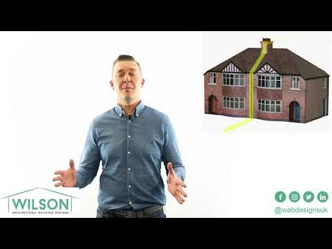 What is a party wall?