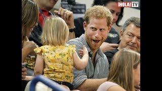 El príncipe Harry comparte su lado más tierno con una niña en los juegos Invictus | La Hora ¡HOLA!