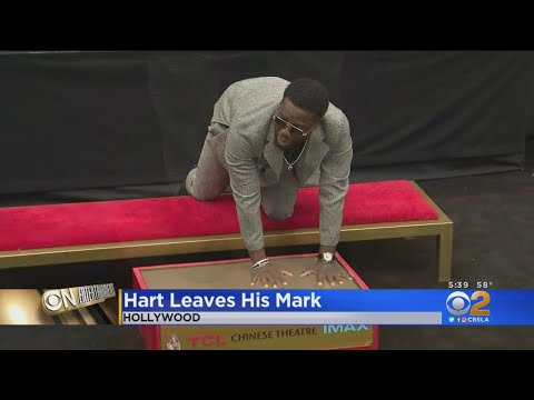 Eye On Entertainment: Actor-Comedian Kevin Hart Leaves Mark At TCL Chinese Theatre