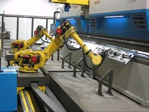 Prasy krawędziowe RICO Portugalia - tandem z robotami.flv - zdjęcie