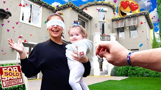 I SURPRISED MY FAMILY WITH A NEW HOME!!! *UNEXPECTED*