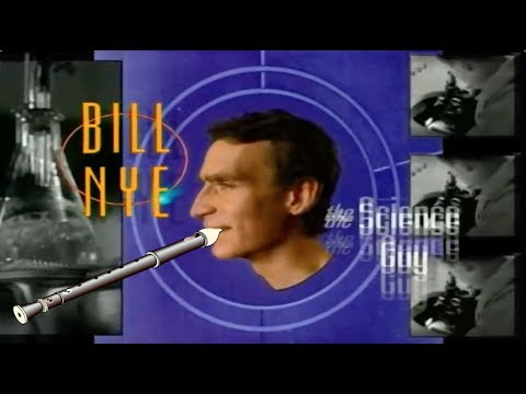 Bill Nye the Science Guy Theme Song (Shittyflute version)