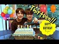 Happy Birthday!! 13 Years Old Twins Birthday!
