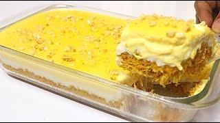 সেমাইয়ের ক্রিম চিজ পুডিং ঈদ স্পেশাল রেসিপি / Emai Cream Cheese Pudding Bangla Recipe