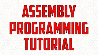 Assembly Language Programming Tutorial