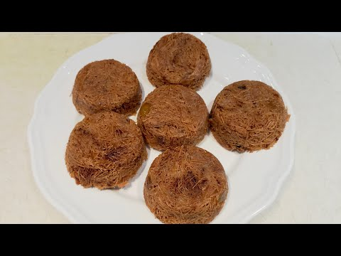 HOW TO MAKE SWEET VERMICELLI BALLS | VERMICELLI RECIPE.