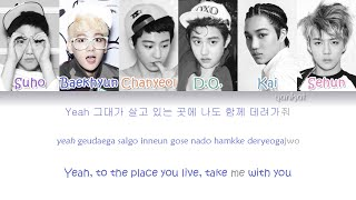 EXO-K - Don't Go (나비소녀) (Color Coded Han|Rom|Eng Lyrics)