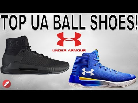 Top 5 Under Armour Basketball Shoes of 2017!