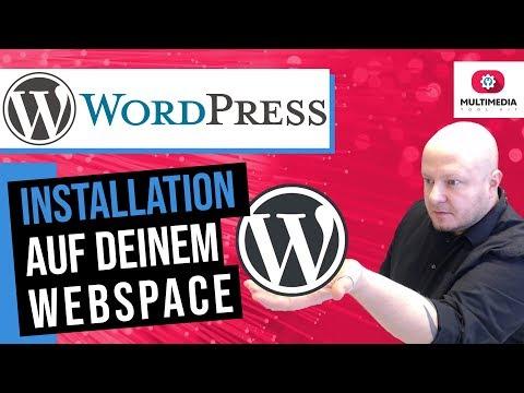 WordPress Tutorial Deutsch 2020 manuell installieren Webserver