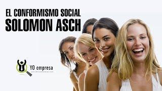 Aprendamos de Solomon Asch y el conformismo social
