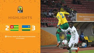 CHAN 2020 | 1er tour – Groupe C : Togo 2-3 Rwanda