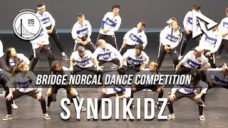 Syndikidz (2nd Place) || Bridge Norcal 2018 || [Dynamiq Official 4K]