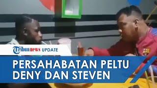 Video Momen Anggota TNI AU Ajak Ngobrol Warga Korban Injak Kepala di Merauke, Pakai Bahasa Isyarat