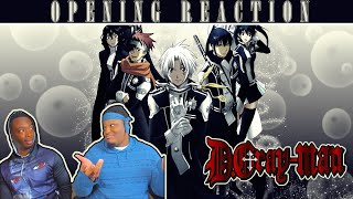 D.Gray-Man - Openings 1-5 HD [BLIND REACTION]
