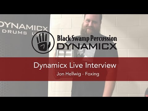 Dynamicx Interview with Jon Hellwig of Foxing at BLED FEST 2018