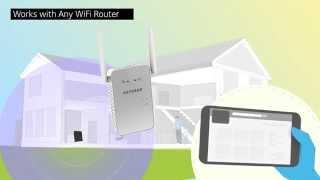 AC1200 WiFi Range Extender Product Tour (EX6150) | NETGEAR