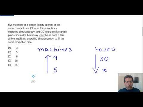 GMAT Quantitative Sample Questions