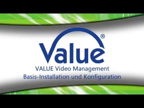 Installation und Konfiguration der Video Management Software (VMS) für die Kameramodelle VBOF1-1, VBOF2-1, VDOF1-1, VDOF2-1, VCIF1-1W