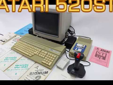 Atari 520ST - Testovací hra