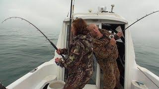 Тихий океан, морская рыбалка