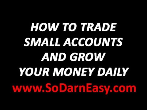 Forex Trading: How To Trade Small Accounts – Yusef Scott