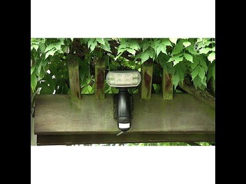 ELV 8 W LED-Strahler mit Kamera, Rekorder und Bewegungsmelder