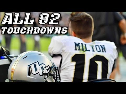 Every McKenzie Milton Touchdown at UCF (All 92) #MiltonStrong