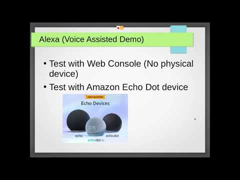 SDN Intent Based Networking with voice Assisted (Alexa custom skill)
