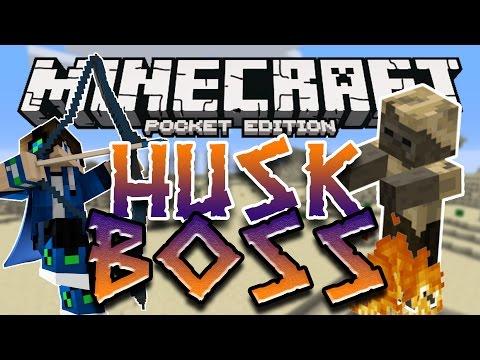 HUSK BOSS MOD for Minecraft Pocket Edition