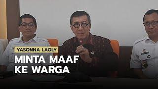 Setelah Demo Warga Tanjung Priok, Menkumham Yasonna Laoly Akhirnya Meminta Maaf atas Ucapannya